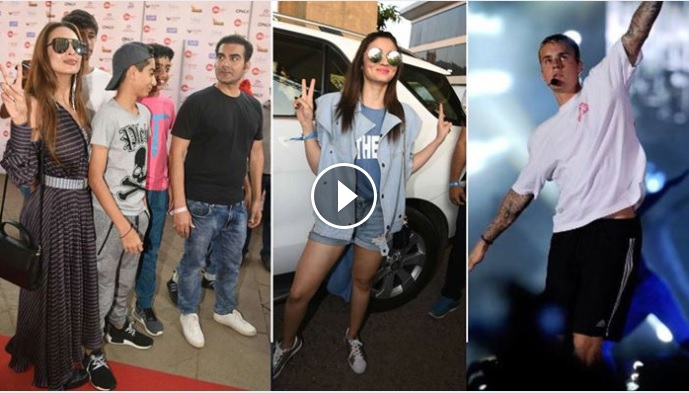 Celebs Who Attended Justin Bieber's Concert in Mumbai