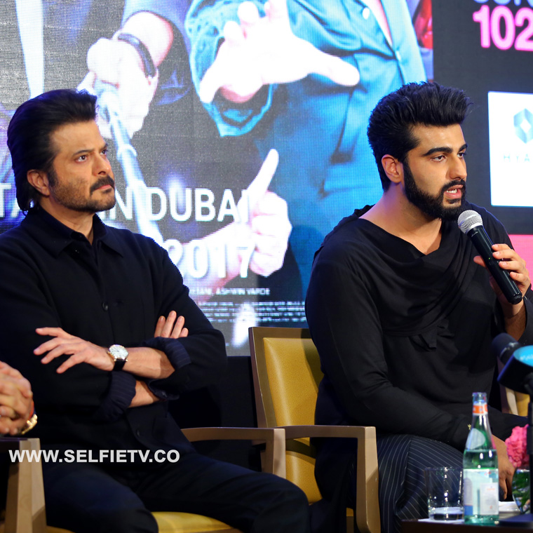 Mubarakan Press Conference in Dubai.