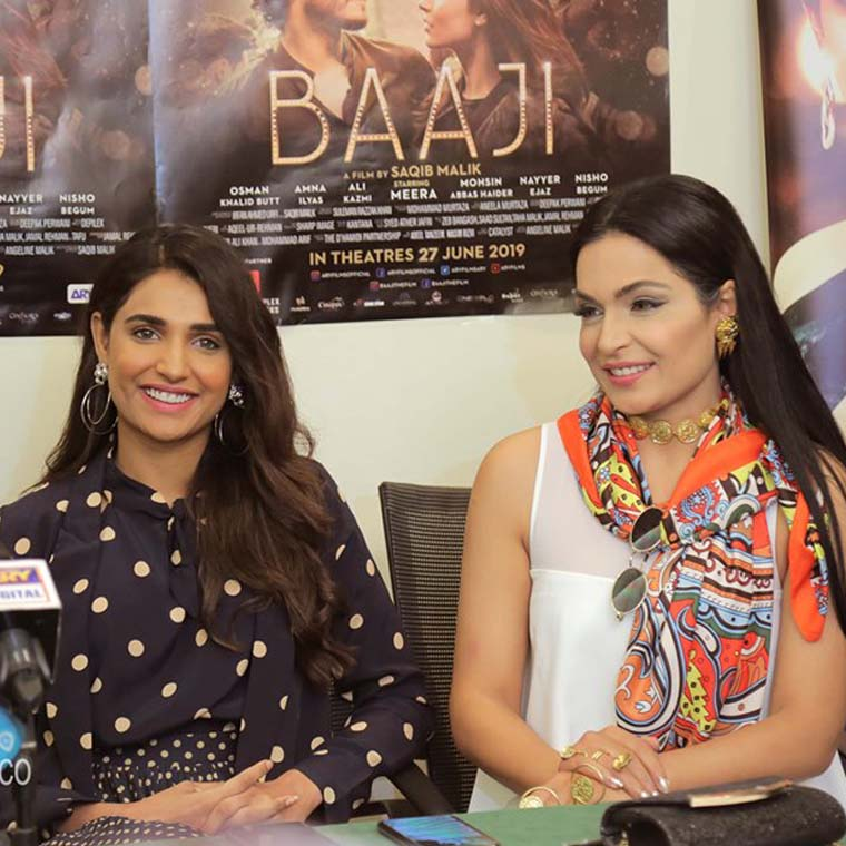 Baaji - Pakistani Movie Press Conference In Dubai !!