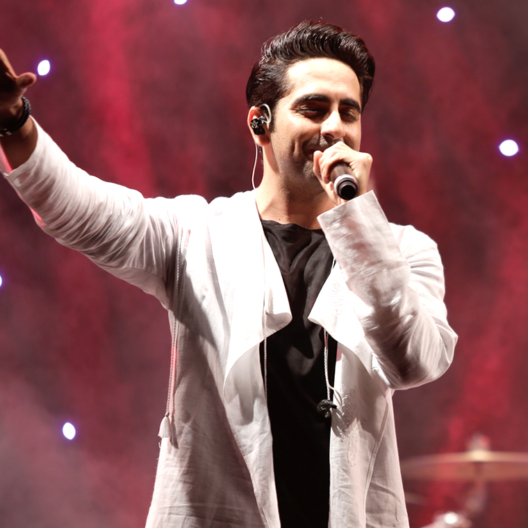 Dubai Rocks with Ayushmann Khurrana
